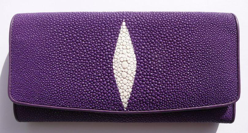 Peněženka z rejnočí kůže Violet velká